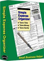 Buy Expense Organizer Spreadsheet